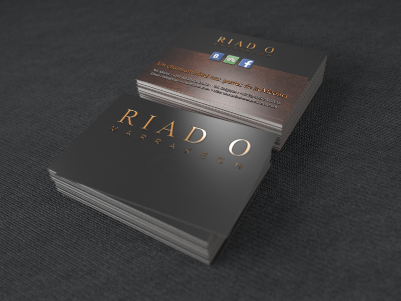 businescards riad O