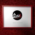 Logo ontwerp DaMusic